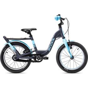 s'cool niXe EVO 16 Vrijwiel Kinderen, grijs/blauw